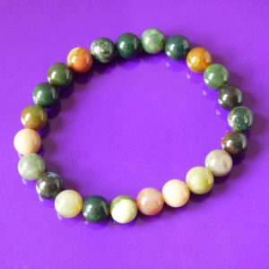 Bracelet | agate indienne 8mm