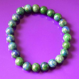 Bracelet | azurite malachite 8mm