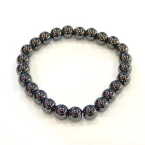 Bracelet | hématite 6mm – 8mm