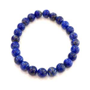 Bracelet | lapis lazuli 8mm