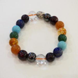 Bracelet 7 chakras 10 mn