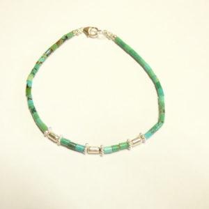Bracelet-pierre turquoise