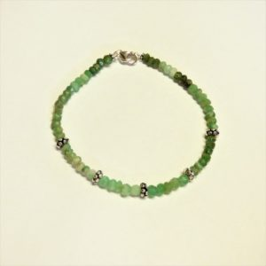 Bracelet-pierre chrysoprase