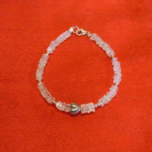 Bracelet-pierre aigue-marine