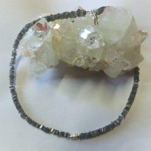 Collier-pierres labradorite