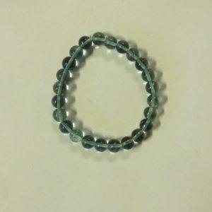Bracelet fluorite bleue  7mm