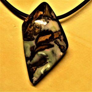 Pendentif opale d'Australie